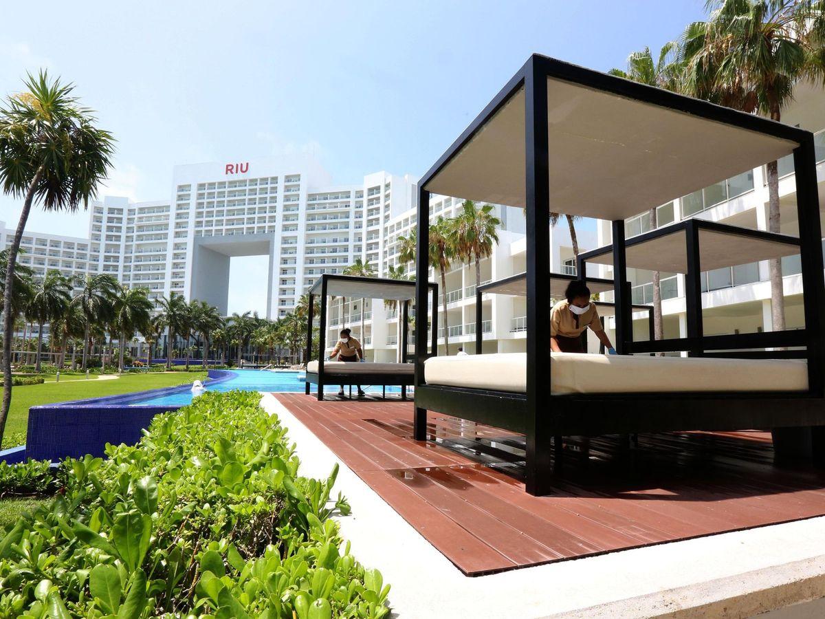 Foto: Hotel RIU en Cancún. (EFE)