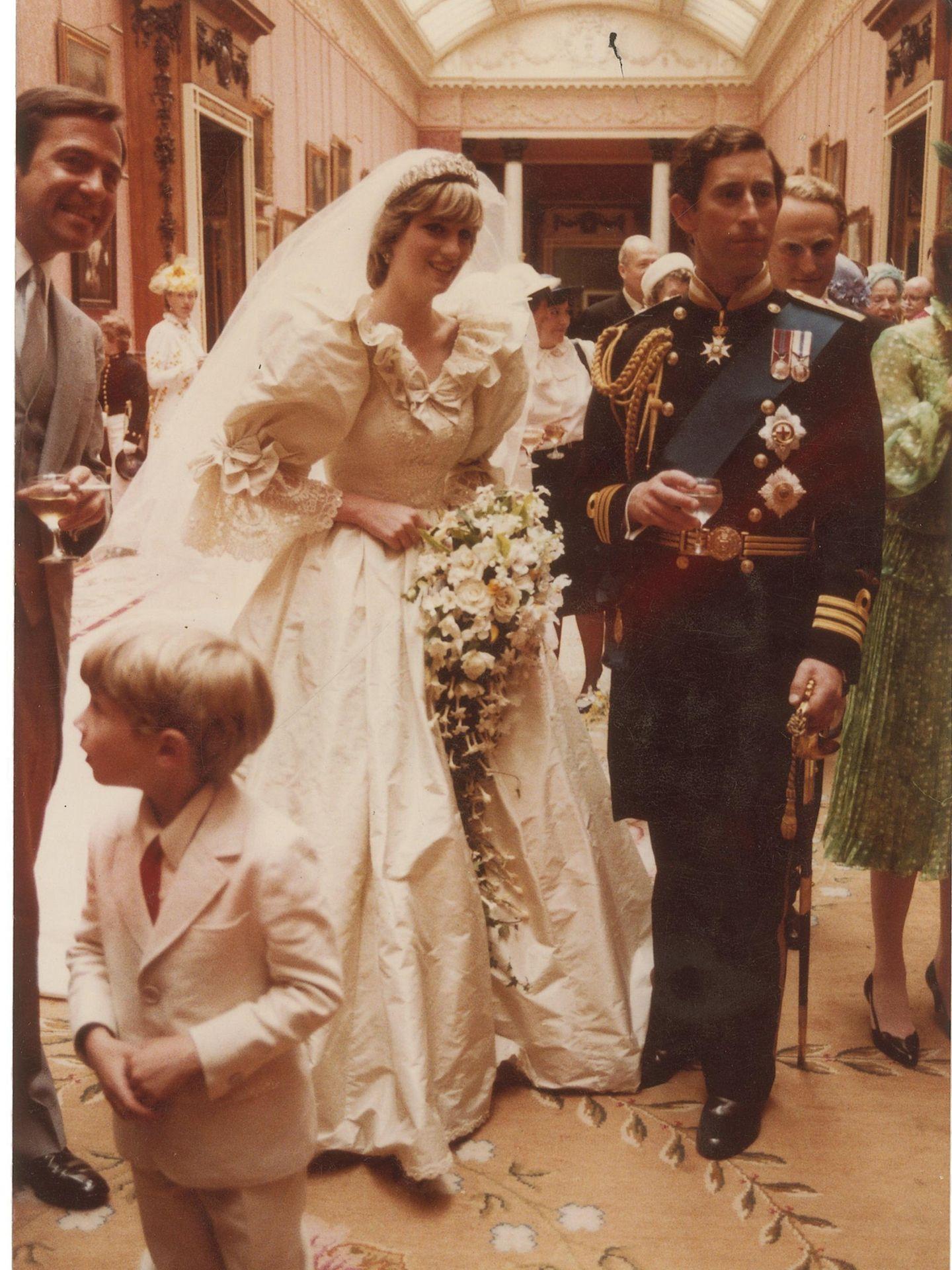 Diana de Gales y el príncipe Carlos. (EFE)
