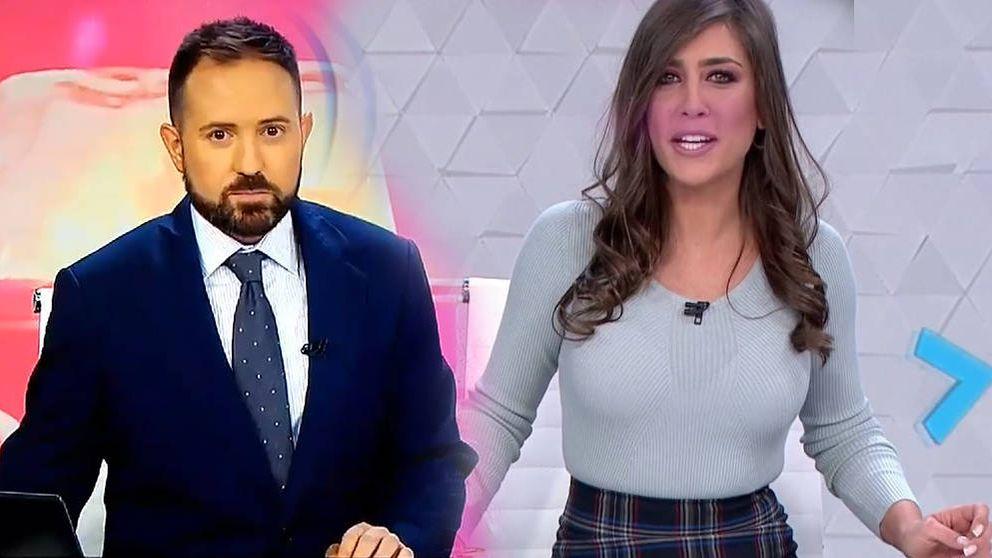 El descuido de una presentadora de 'Antena 3 Noticias' en pleno directo