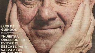 Guindos 'regala' un reloj de 4.600 euros en su entrevista de despedida