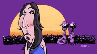 'El color púrpura' de Paz Padilla