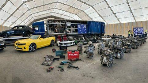 El 'método Ikea' de la banda que robó 56 coches de lujo en la Costa del Sol
