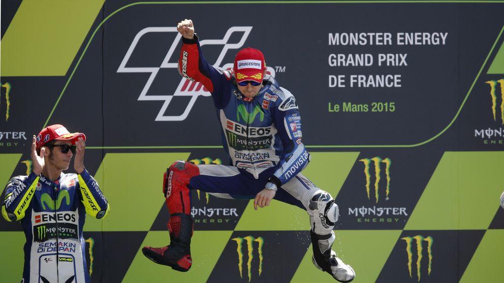 Jorge Lorenzo suma en Francia su segunda victoria consecutiva
