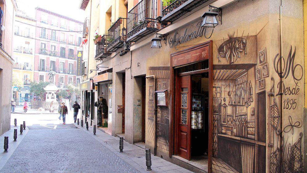 Foto: Restaurante Malacatín, en la calle de la Ruda.