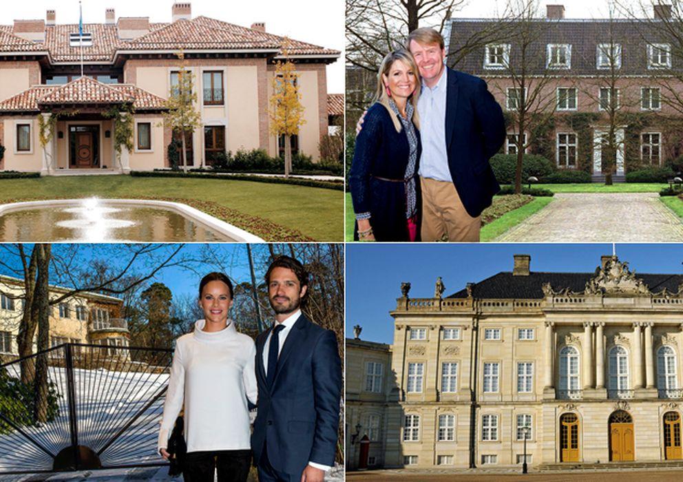 Foto: Los Reyes de España y Holanda, y los príncipes de Suecia y Dinamarca con sus casas (Vanitatis)