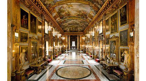 El arte que esconden los palacios de Roma