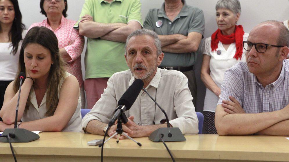 Foto: Luis Suarez Carreño, en el centro de la imagen. (EFE)