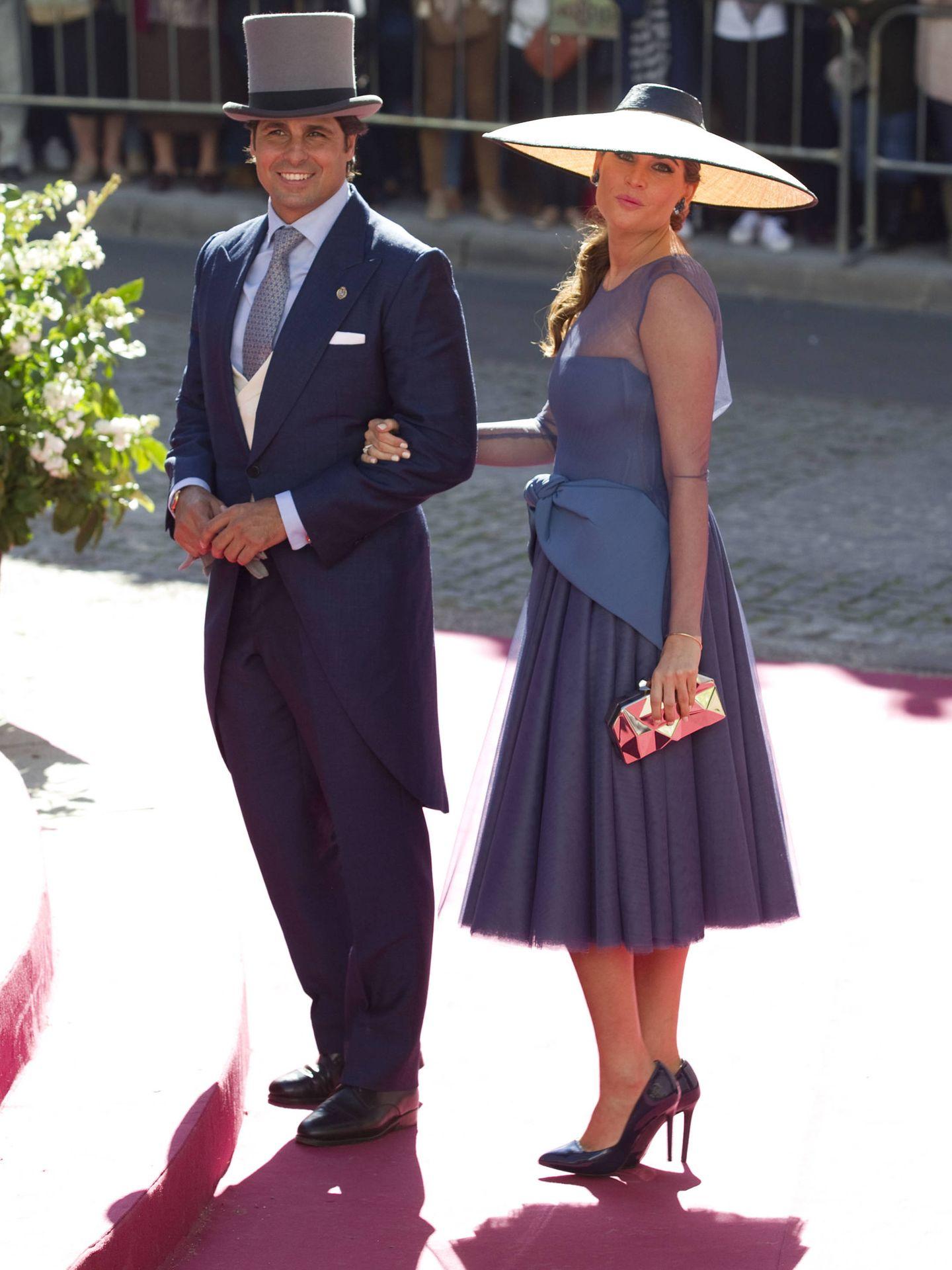 Fran Rivera y Lourdes Montes. (Getty)