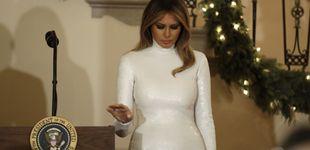 Post de El impactante vestido de Melania Trump que la consagra como primera dama del estilo