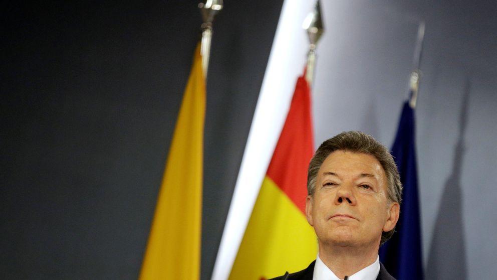 El presidente de Colombia, Juan Manuel Santos, premio Nobel de la Paz 2016