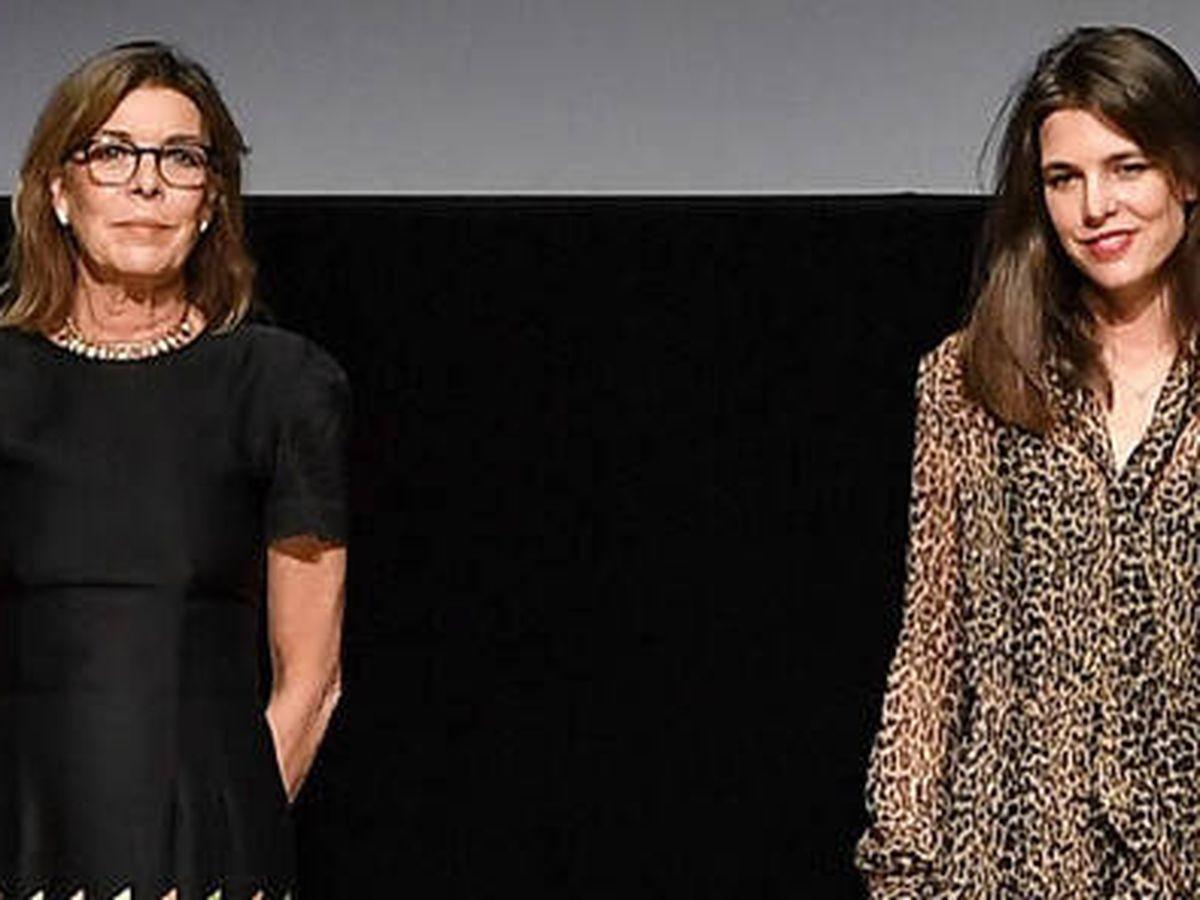 Foto: Carolina de Mónaco y Carlota Casiraghi con dos vestidos espectaculares. (Gouvernement Monaco)