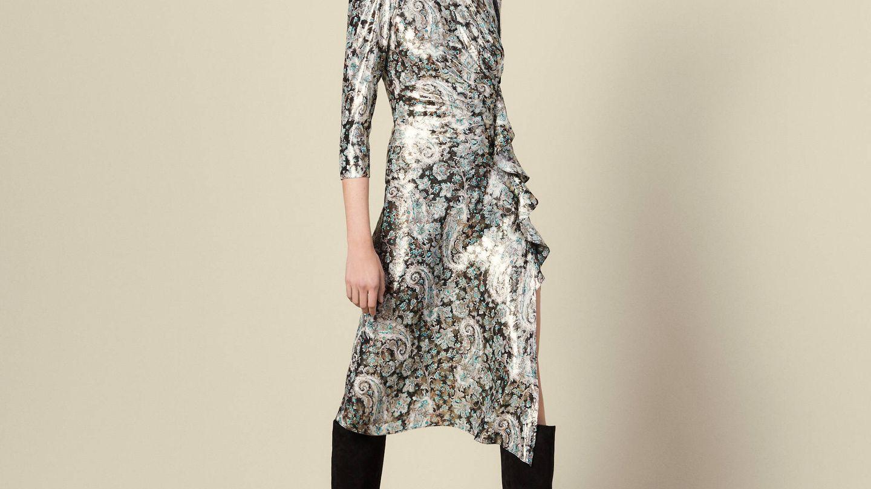 Vestido de Sandro de Tamara. (Cortesía)