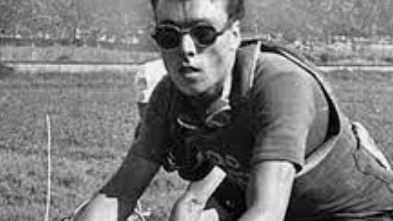 Luigi Malabrocca con la maglia nera