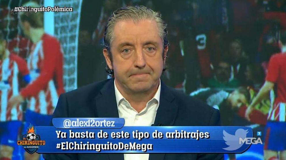 Pedrerol carga contra el árbitro tras el pinchazo del Madrid: ¿Se puede permitir esto?