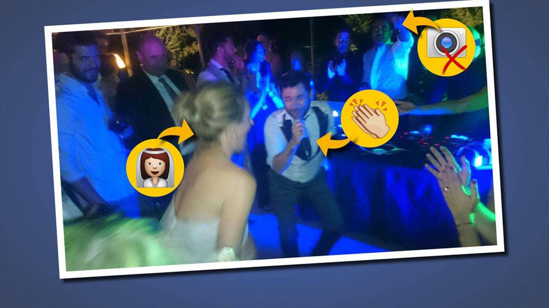 Tres cosas que confirma esta foto inédita de la boda de Rocío Carrasco y Fidel Albiac
