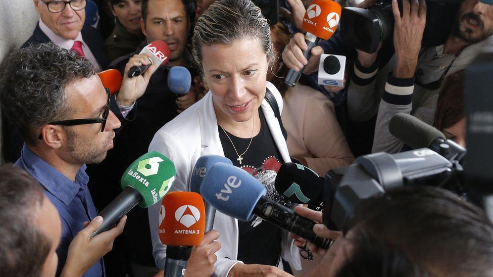 Foto: La madre de Diana Quer pide que se la busque en Estados Unidos. (EFE)