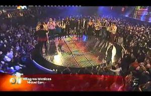 Pilar Rubio echa a llorar en el directo de Operación Triunfo