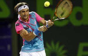 El juego de David Ferrer no afloja y gana en intensidad en Miami