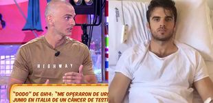 Post de Dodo de 'GH 14' reaparece en 'Sálvame' tras padecer cáncer de testículos