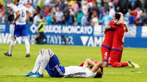 El drama del Zaragoza con un cabezazo del ex jugador Diamanka en el minuto 91