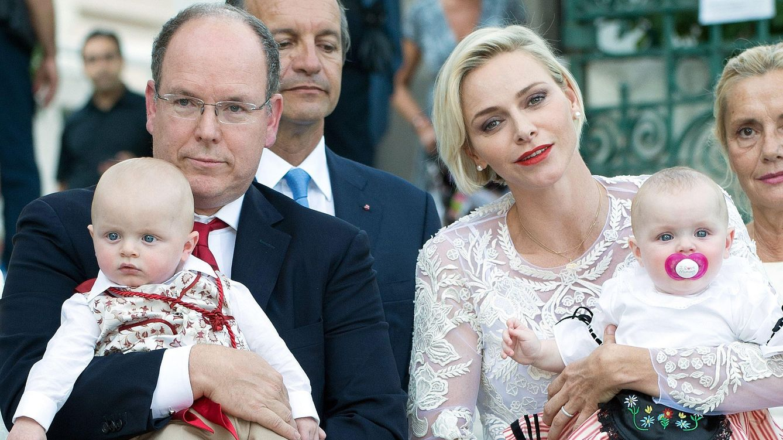 Foto: Alberto, Charlène, Jacques y Gabriella en su última aparición pública