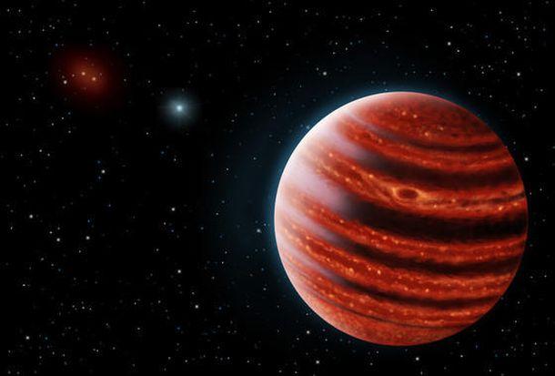 Foto: Los astrónomos descubren un 'joven Júpiter'