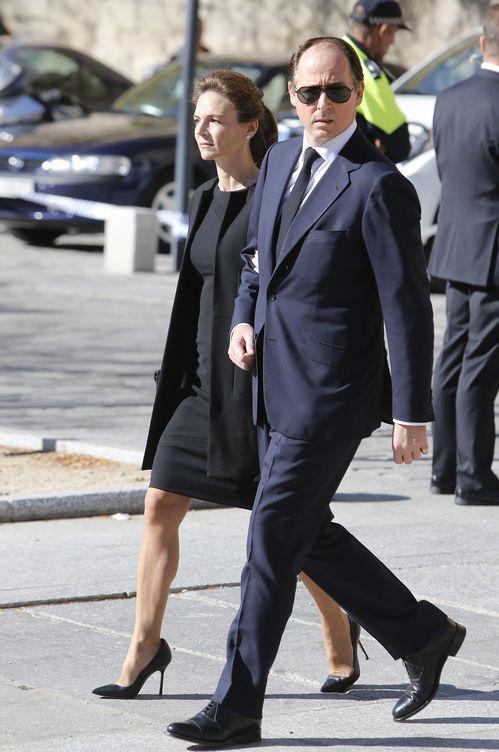 Foto: El príncipe Constantino de Bulgaria junto a su mujer, María García de la Rasilla