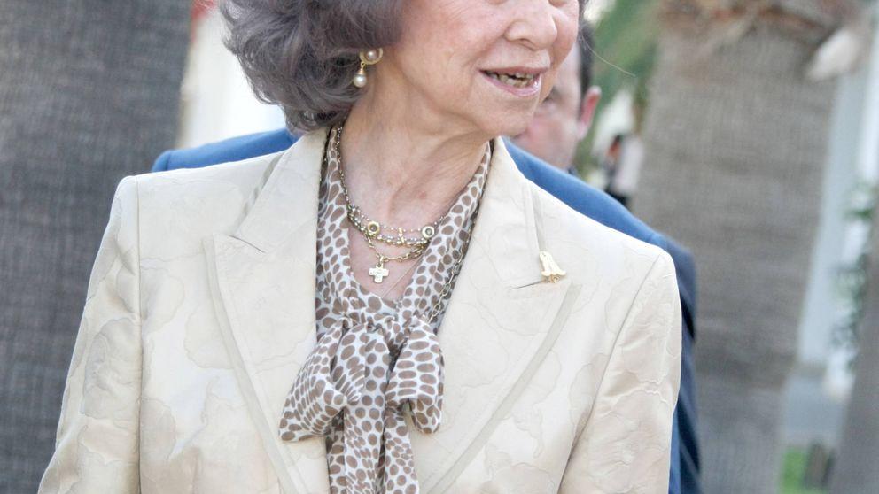 La discreta presencia de la reina Sofía en Grecia este fin de semana