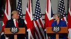 Trump ve un potencial tremendo en el futuro pacto con el Reino Unido