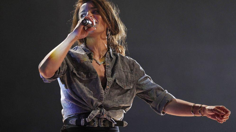 Foto: Bebe, durante una actuación en directo en Madrid (EFE/Víctor Lerena)