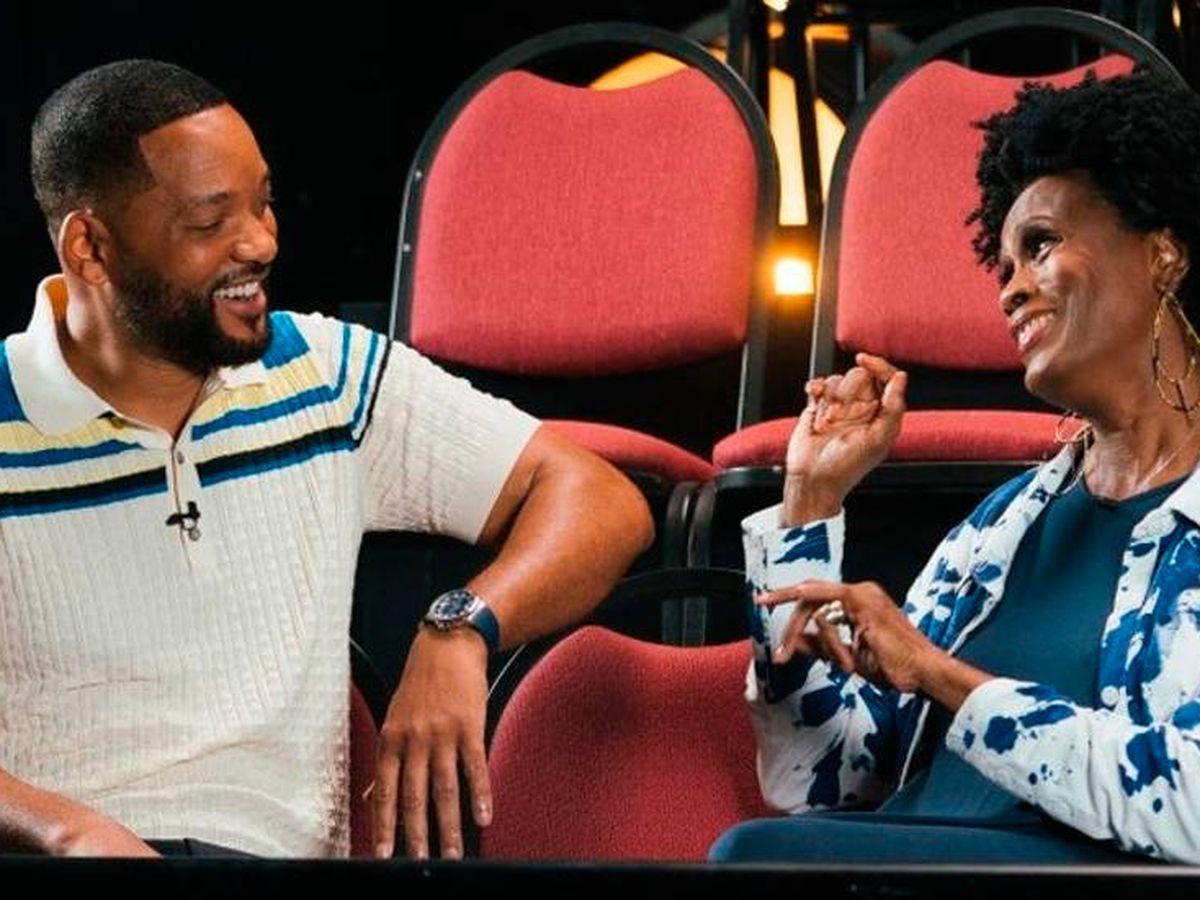 Foto: Will Smith y Janet Hubert, la primera tía Vivian, volvieron a verse las caras (HBO Max)