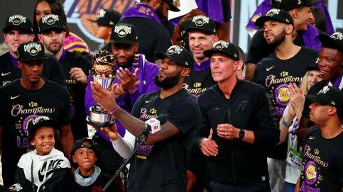 Los Lakers ganan la NBA en recuerdo a Kobe Bryant y LeBron James hace historia