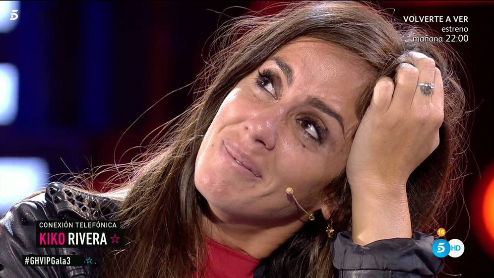 Foto: Anabel Pantoja, en 'GH VIP 7'. (Telecinco)