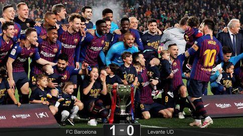 El Barcelona gana la Liga gracias a un solitario gol del de siempre: Leo Messi