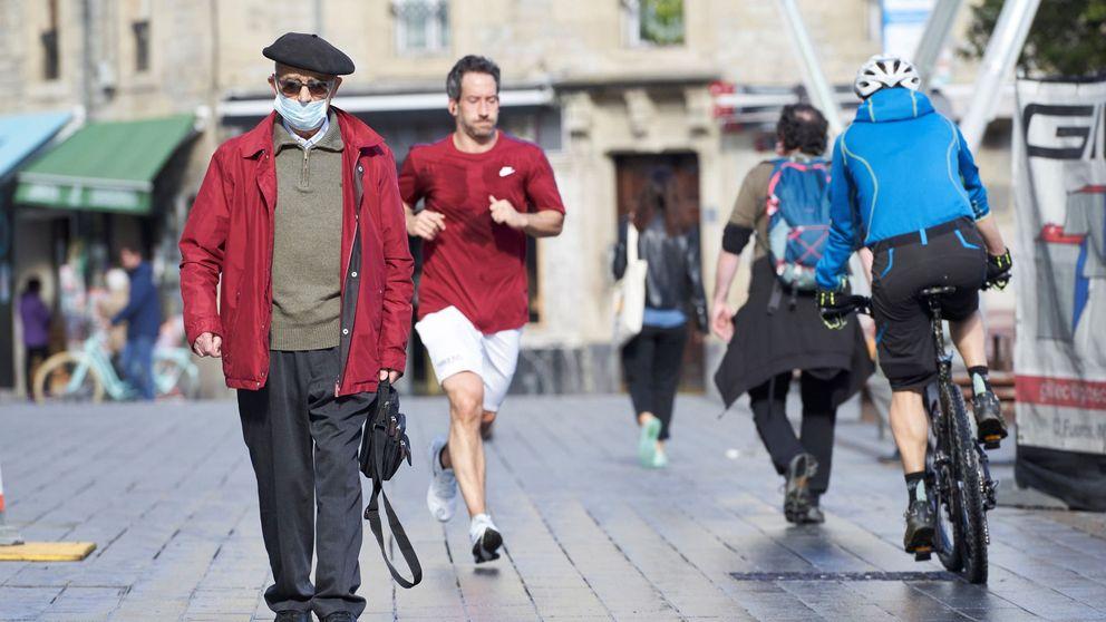 Sí al deporte pero no al permiso a niños: el 32% de los vascos rechaza sus salidas a la calle