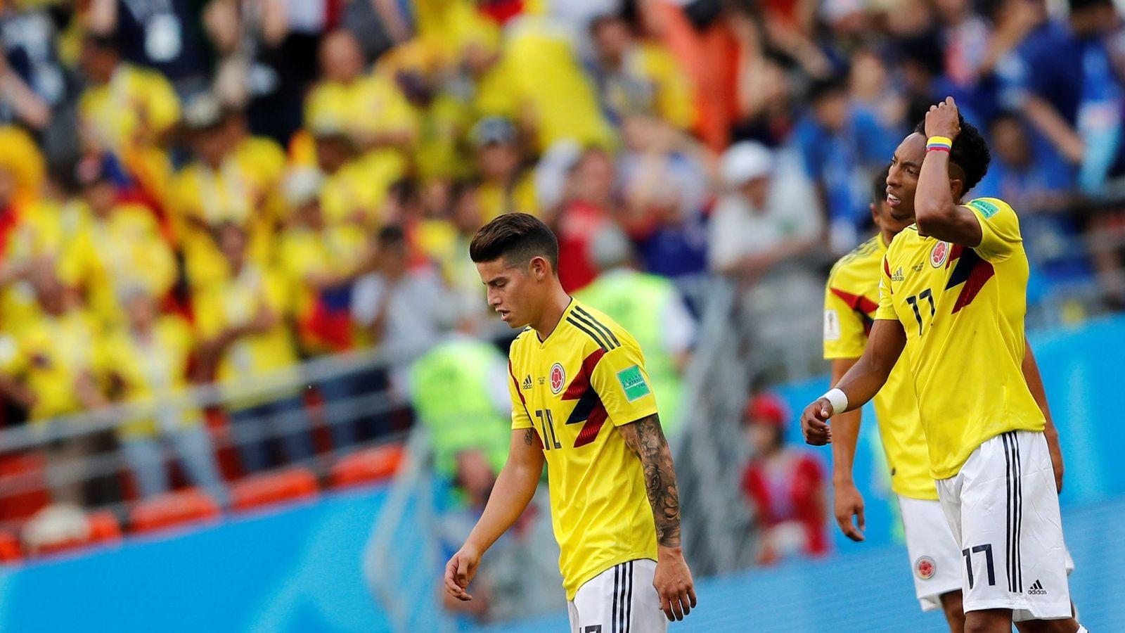 Foto: Colombia vs. japÓn