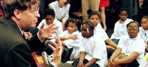 Foto: Los planes de Bill Gates para lograr una educación pública eficiente