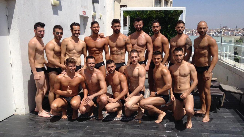 Foto: Los 15 aspirantes a Míster Gay Pride España 2015 (Foto: Juan Tejada)