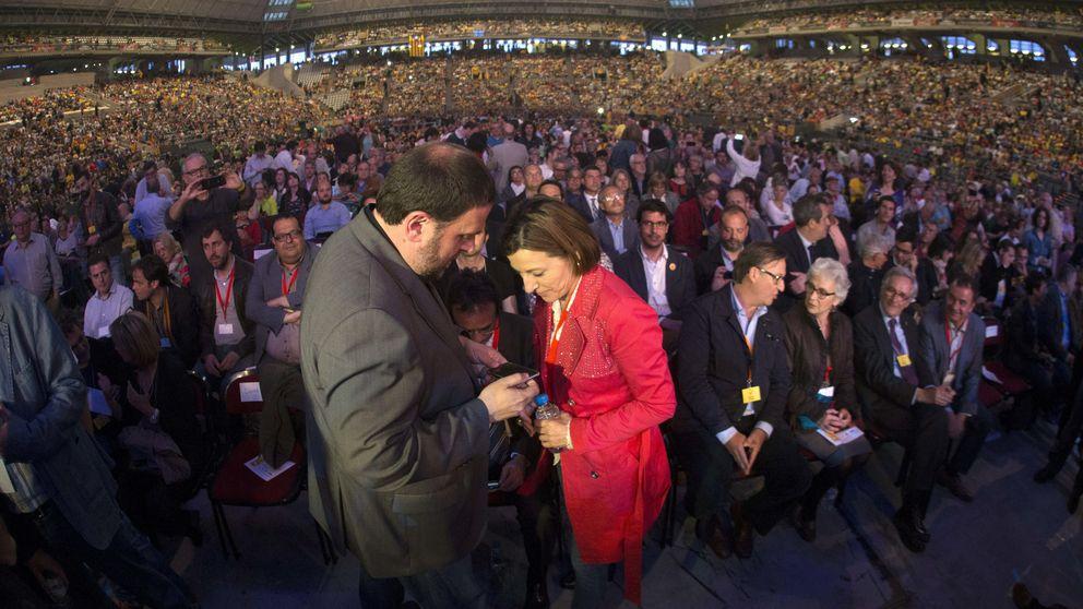 Los independentistas inician su campaña con un acto de fuerza