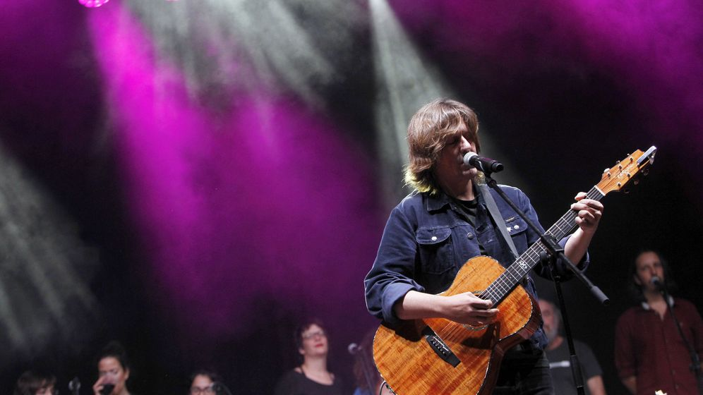 Foto: Nacho Vegas, en concierto. (EFE)