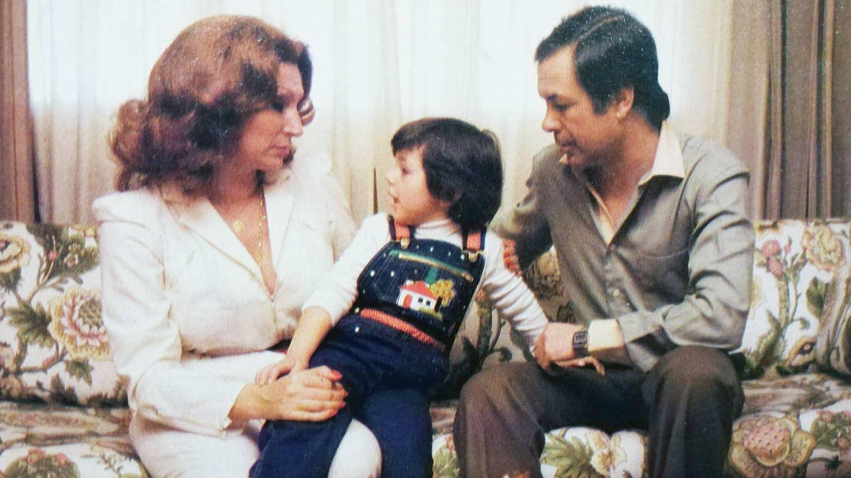 Rocío Jurado, Pedro Carrasco y Rocío Carrasco. (Foto: Revista Tiempo)