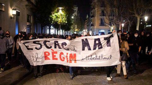 Séptimo día de protestas: tres detenidos en Barcelona