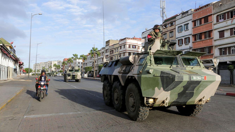 Foto: El Ejército marroquí patrulla las calles de Casablanca en una imagen de archivo. (Reuters)