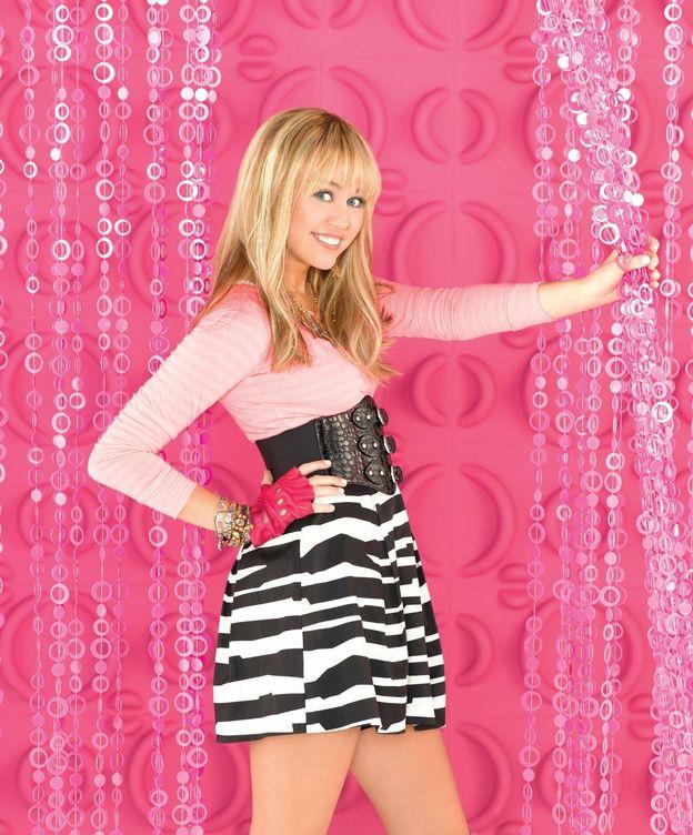 Foto: Miley Cyrus en la piel de Hannah Montana en una imagen de archivo