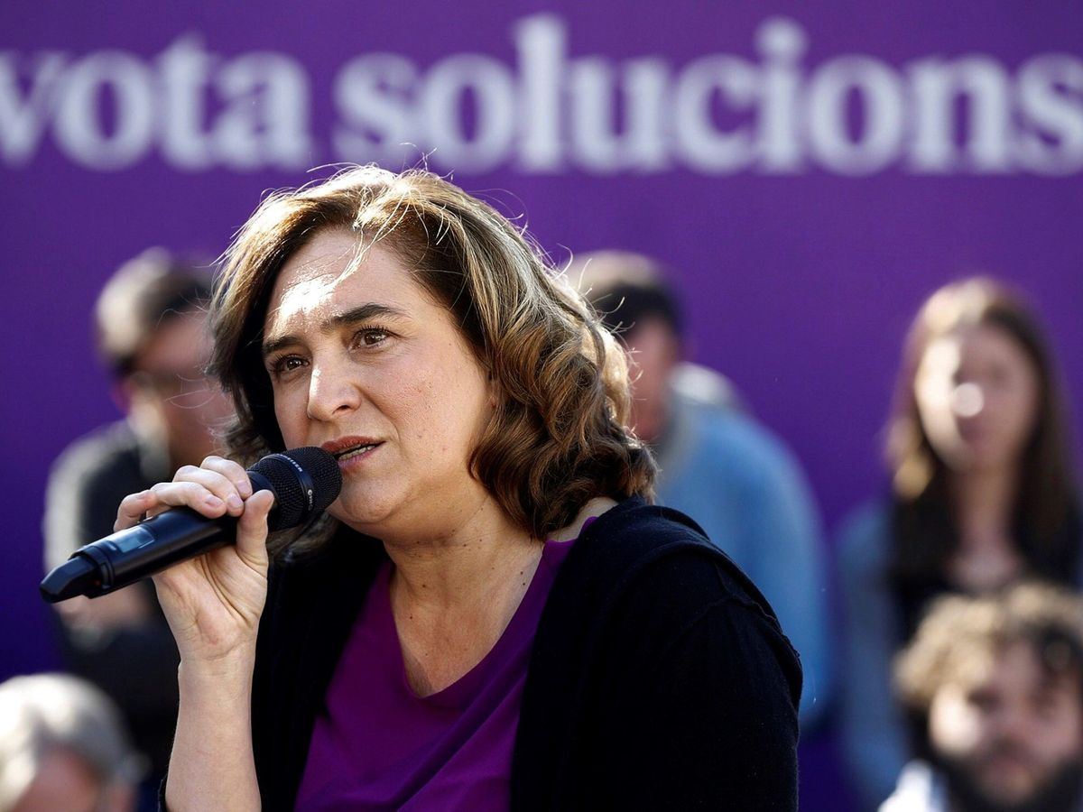 Foto: La alcaldesa de Barcelona, Ada Colau. (EFE)