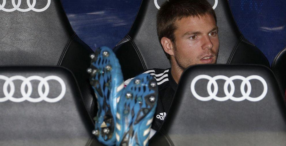 Foto: Asier Illarramendi, un jugador que no termina de ganarse el puesto en el Real Madrid.