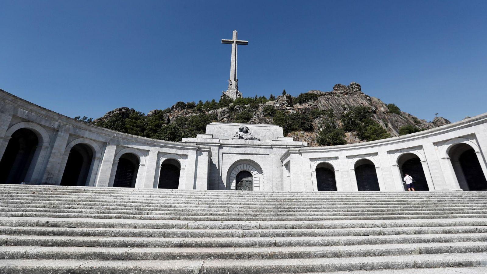 Foto: Una imagen del Valle de los Caídos, donde están enterrados los restos de Francisco Franco.