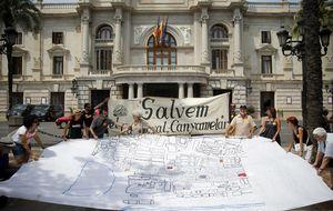 Prieto abandona Bellas Artes con el derribo del Cabanyal pendiente