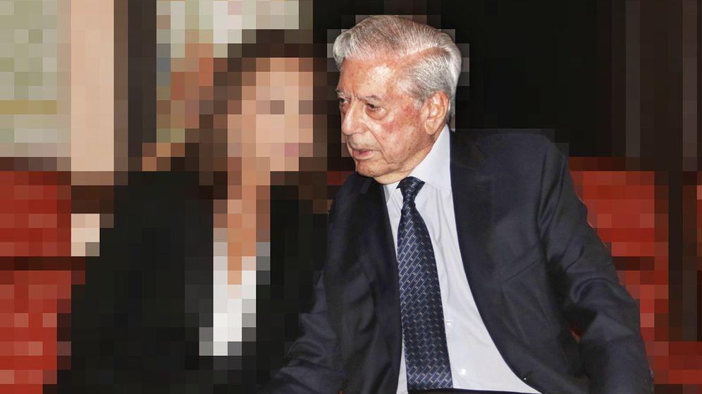 Foto: Vargas Llosa junto a su amada. (EFE)