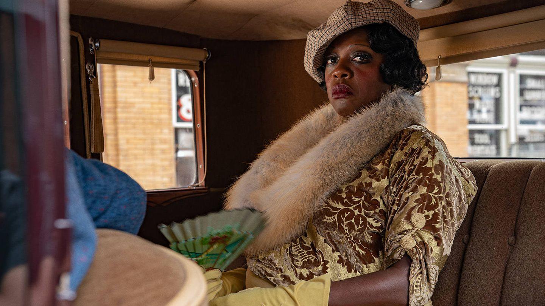 Viola Davis es Ma Rainey en 'La madre del blues'. (Netflix)